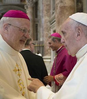 Biskop och Påve