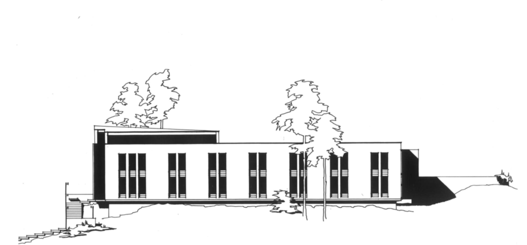 S:t Davidsgårdens fasad