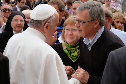 Ulf Ekman och påven